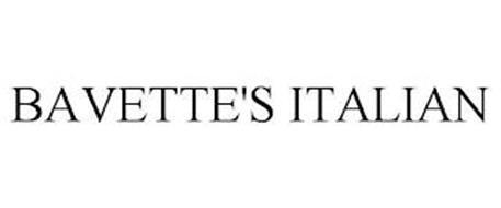 BAVETTE'S ITALIAN