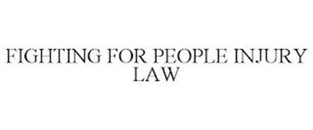 FIGHTING FOR PEOPLE INJURY LAW