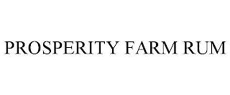 PROSPERITY FARM RUM