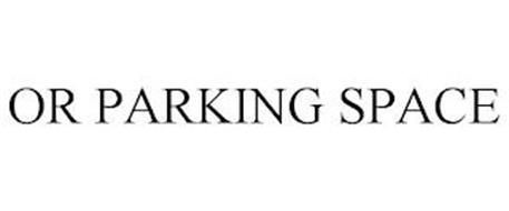 OR PARKING SPACE