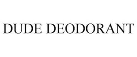 DUDE DEODORANT