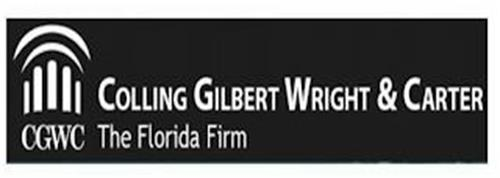CGWC COLLING GILBERT WRIGHT & CARTER THE FLORIDA FIRM