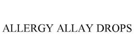 ALLERGY ALLAY DROPS