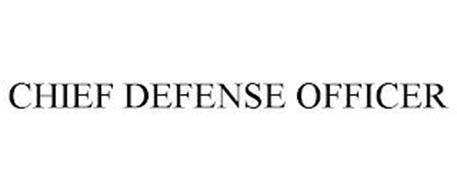 CHIEF DEFENSE OFFICER
