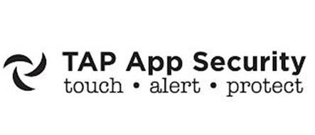TAP APP SECURITY TOUCH · ALERT · PROTECT