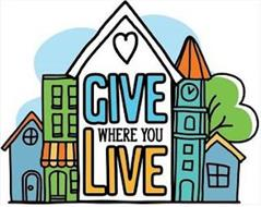 GIVE WHERE YOU LIVE