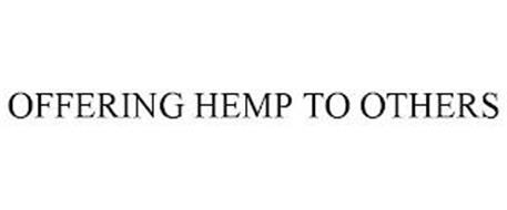 OFFERING HEMP TO OTHERS