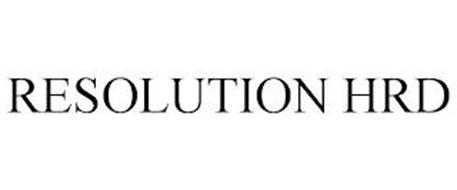 RESOLUTION HRD
