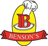 B BENSON'S