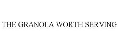 THE GRANOLA WORTH SERVING