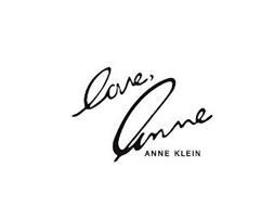 LOVE, ANNE ANNE KLEIN