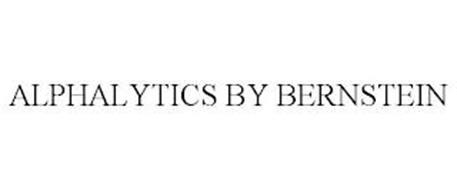 ALPHALYTICS BY BERNSTEIN