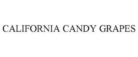 CALIFORNIA CANDY GRAPES