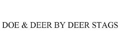 DOE & DEER BY DEER STAGS