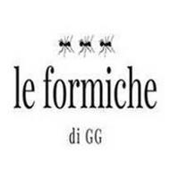 LE FORMICHE DI GG