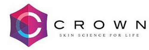 C CROWN SKIN SCIENCE FOR LIFE