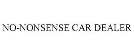 NO-NONSENSE CAR DEALER