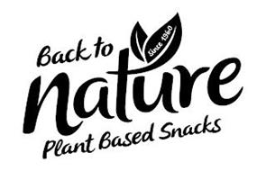BACK TO NATURE SINCE 1960 PLANT BASED SNACKS