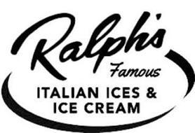 RALPH'S FAMOUS ITALIAN ICES & ICE CREAM