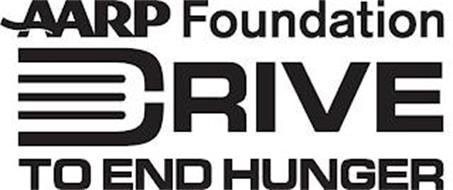 AARP FOUNDATION DRIVE TO END HUNGER