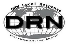 DRN DRN LOCAL RESPONSE LOCAL CONTRACTORS, LOCAL RESOURCES