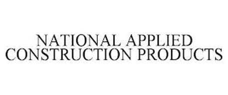 NATIONAL APPLIED CONSTRUCTION PRODUCTS