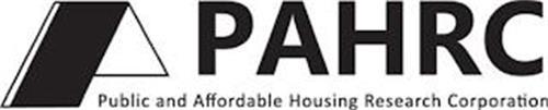 PAHRC PUBLIC AND AFFORDABLE HOUSING RESEARCH CORPORATION
