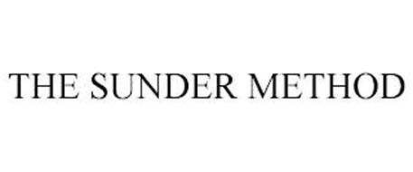 THE SUNDER METHOD
