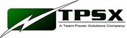 TPSX A TEAM POWER SOLUTIONS COMPANY
