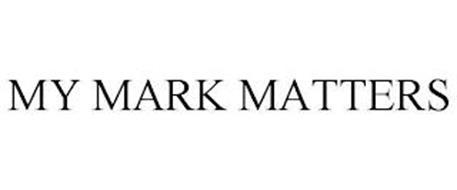 MY MARK MATTERS