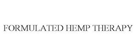 FORMULATED HEMP THERAPY