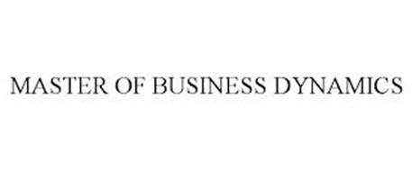 MASTER OF BUSINESS DYNAMICS