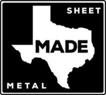 SHEET MADE METAL