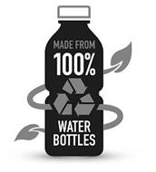 MADE FROM 100% WATER BOTTLES