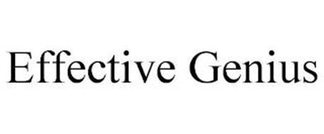 EFFECTIVE GENIUS