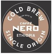 COLD BREW ITALIAN COFFEE CO. CAFFÈ NERO ETHIOPIA COLD BREW