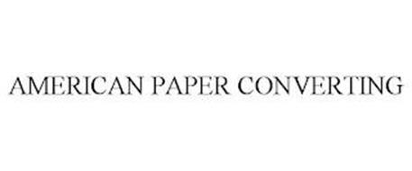 AMERICAN PAPER CONVERTING