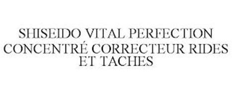 SHISEIDO VITAL PERFECTION CONCENTRÉ CORRECTEUR RIDES ET TACHES