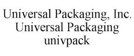 UNIVERSAL PACKAGING, INC. UNIVERSAL PACKAGING UNIVPACK