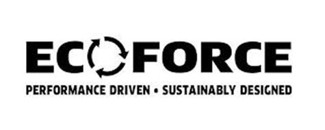 ECOFORCE PERFORMANCE DRIVEN · SUSTAINABLY DESIGNED