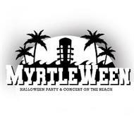 MYRTLEWEEN HALLOWEEN PARTY & CONCERT ONTHE BEACH