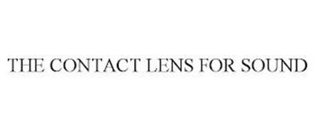 THE CONTACT LENS FOR SOUND