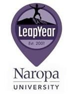 LEAPYEAR EST. 2001 NAROPA UNIVERSITY