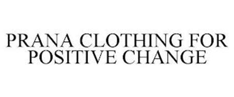 PRANA CLOTHING FOR POSITIVE CHANGE