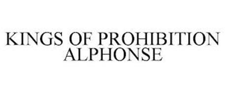 KINGS OF PROHIBITION ALPHONSE