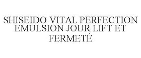 SHISEIDO VITAL PERFECTION EMULSION JOURLIFT ET FERMETÉ