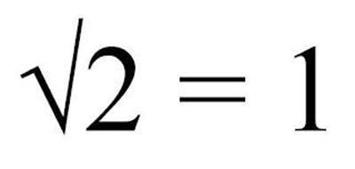 2 = 1