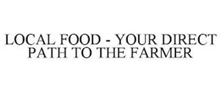 LOCAL FOOD - YOUR DIRECT PATH TO THE FARMER