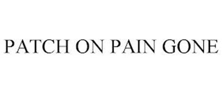 PATCH ON PAIN GONE