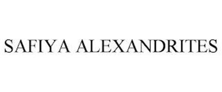 SAFIYA ALEXANDRITES